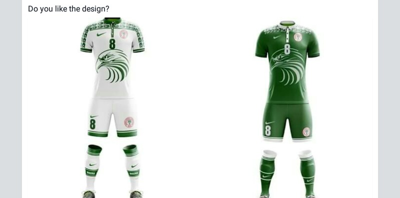 c190ec2bea1 Don t you think we are copying the Senegalese jersey. Re  How Do You See  This Super Eagles World Cup ...