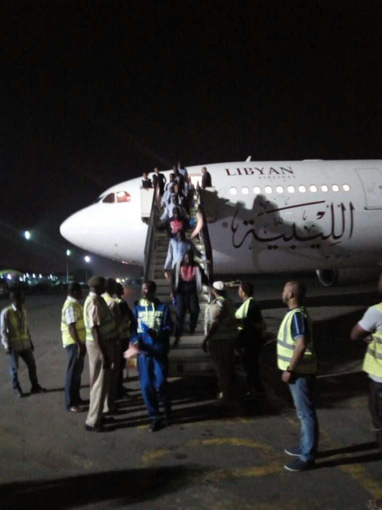 NEW!!!: 242 Nigerians Rescued Successfully From Libya (photos)