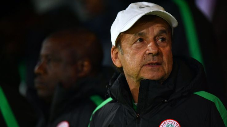 Russia 2018: Gernot Rohr Arrives Moscow Ahead Of Friday's Wold Cup Draws