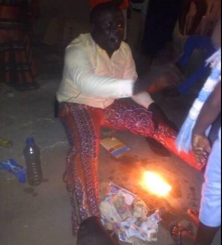 "Port Harcourt Prophet ""Invokes Fire"", As He Delivers Members From Poverty (Photos)"