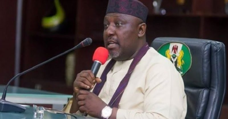 Governor Okorocha Appoints His Sister As Commissioner For Happiness (Photo)