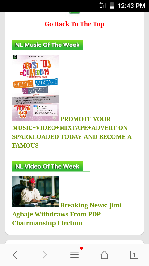 Please How Can I Remove Music And Video Of The Week In Naijaloaded
