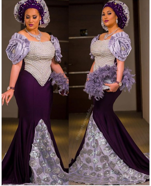 Caroline Danjuma The Former Actress And Fashionista Stole Show At Wedding Of Her Friend Singer Oriste Femi In 2 Gorgeous Outfits