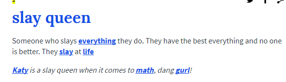 Urban dictionary size queen