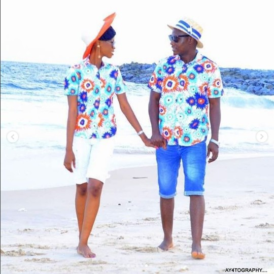 Couples Caribbean Style Pre-Wedding Shoots