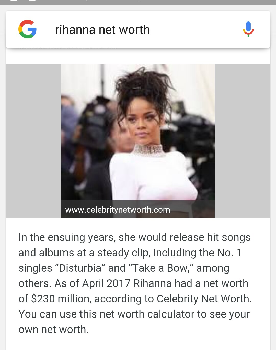 Rihanna abandoned the billionaire Arab for a reason that only she could think