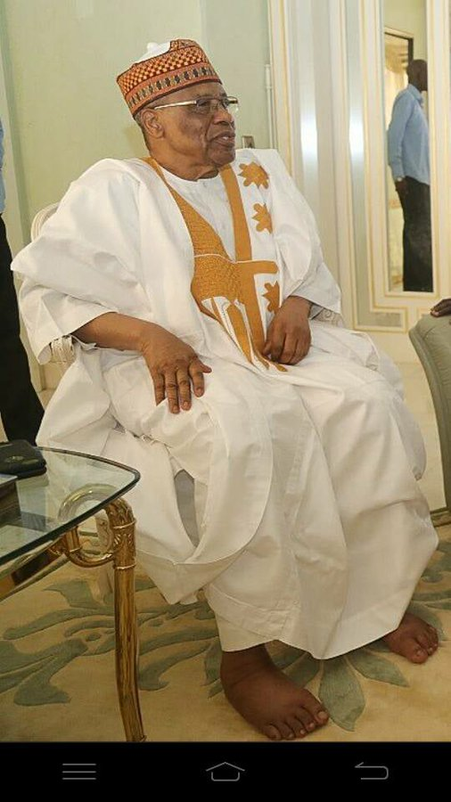 IBB Can't Wear Shoes Anymore. Nemesis Catches Up With The 'Evil Genius' - SR (Photo)