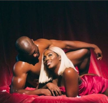 Tiwa Savage's Controversial Photo In Bed With AMan Sends Internet Into Frenzy