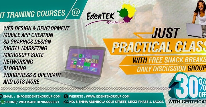 it training courses with free lunch daily and free discussion groups