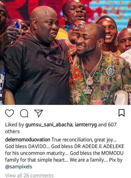 Davido Publicly Apologizes To Dele Momodu As They End Their Beef (Photos)