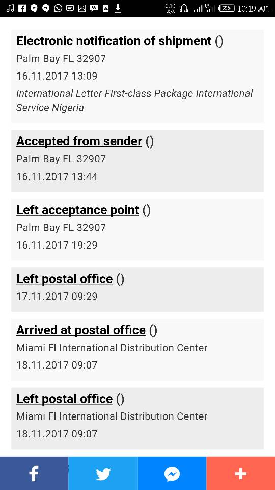 Package Delivery Problems: USPS And NIPOST - Business (44