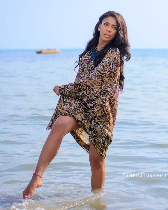 Tboss Releases Hot Photos, Comes For Haters In Appreciation Post To Ubi Franklin