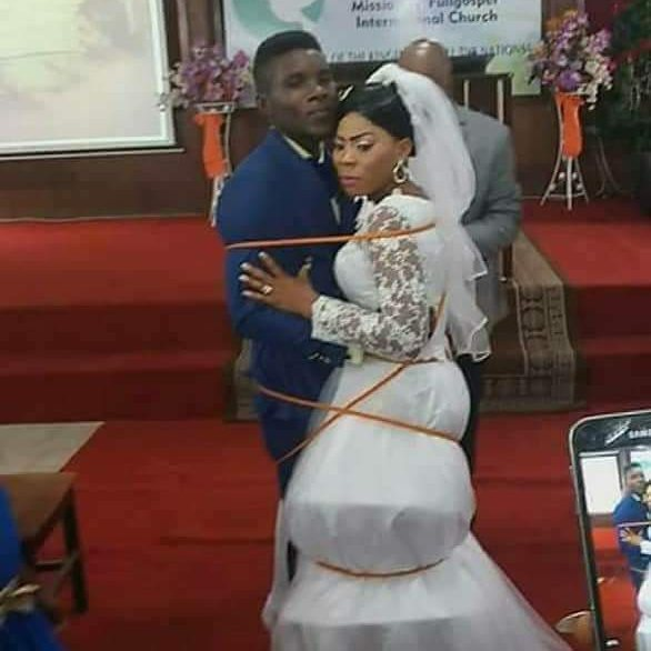 Wedding Altar Call: AMAZING STORIES AROUND THE WORLD: 'What God Has Tied