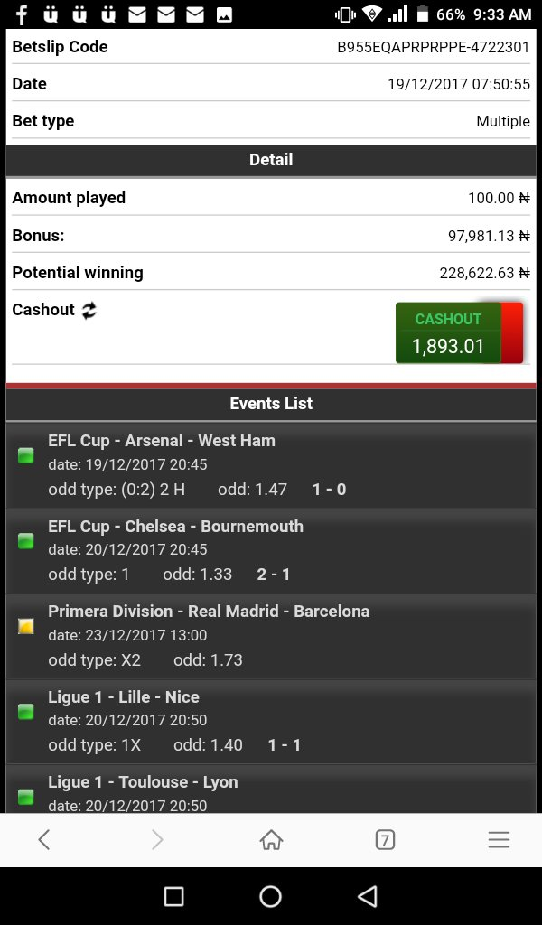 Bet9ja Predictions: 10 Sure Games You Can Predict Correctly