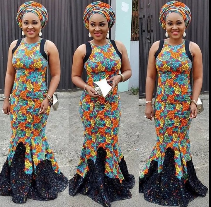 Latest Ankara Long Gown Styles 2017-2018 - Fashion - Nigeria
