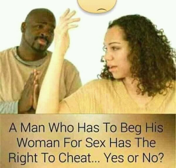Havw to beg wife for sex