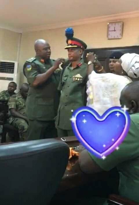 Fulani Man Promoted To The Rank Of Brigadier General In Nigerian Army (Photos)