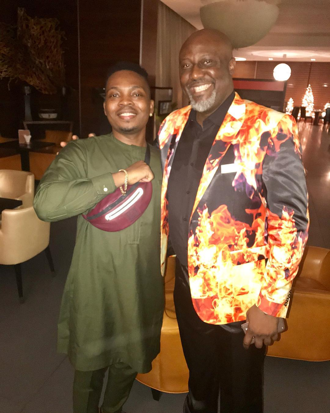 image results for olamide and dino melaye