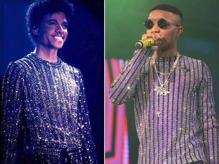 Wizkid Vs Michael Jackson: Who Wore It Better? (Photos)