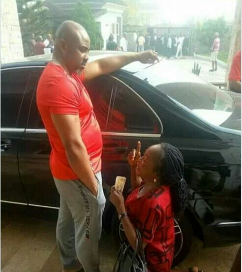 Ali Baba Reacts To Viral Photo Of A Woman Kneeling Before Akwa Ibom Lawmaker