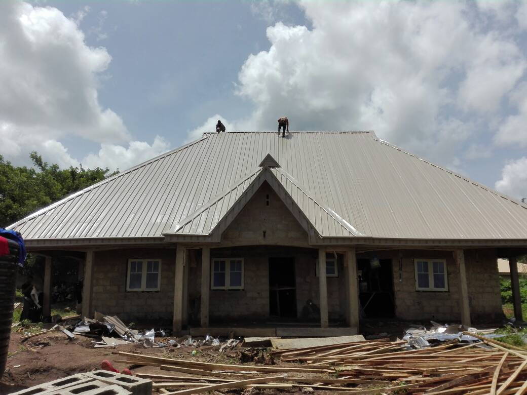 Roofing Sheets Cost Of Roofing With Stone Coated Tiles In
