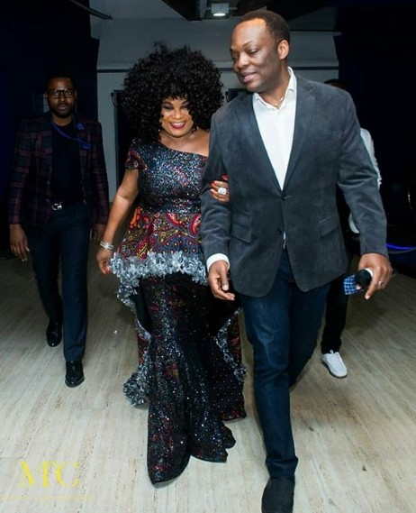 """Sola Sobowale's Birthday Dinner At London Premiere Of """"The"""
