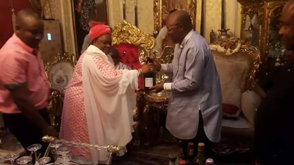 Patience Jonathan Visits Ex-Militant Turned King, Ateke Tom (Photos)