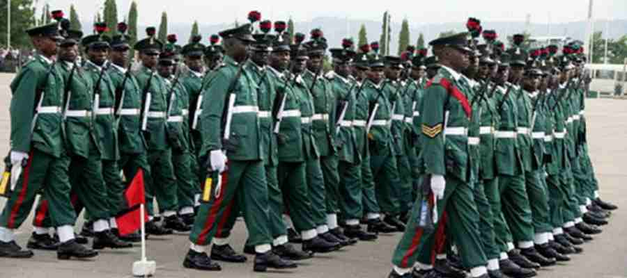 Nigerian Army Recruitment 2017/2018 Application Form Is Out