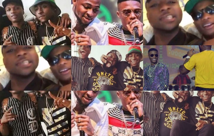 Wizkid Visits Davido At Home, Planning A Music Collaboration