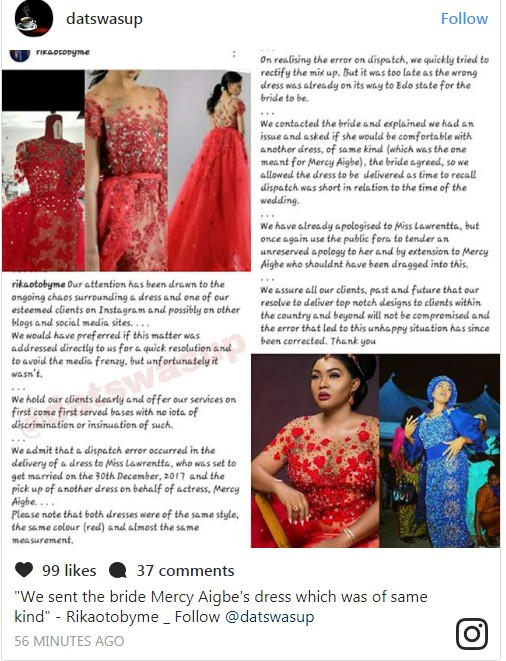 6496363_screenshot2_jpeg1190646d7dad52a810e9b533aff0f04e Tailor Accused Of Giving Bride's Dress To Actress Aigbe,Speaks (Photos)