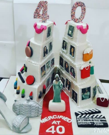 The Post Mercy Aigbe Got 8 Cakes On Her 40th Birthday Photos Appeared First Liveofofo