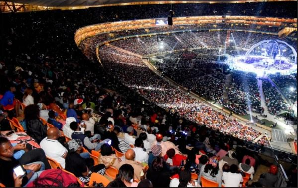 6503055 anyasatimesnews3266600x379 jpegf4514e1902778f5bbb4567561d587f82 - Malawian Prophet, Shepherd Bushiri Filled Up Africa's Largest Stadium (Photos)