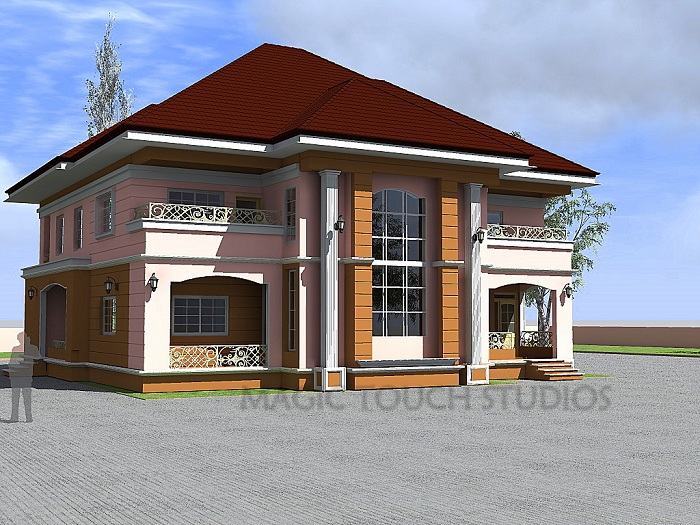 Architectural designs for nairalanders who want to build for Modern duplex house plans in nigeria