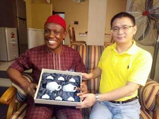 Unizik Vice Chancellor Hosts Chinese Delegates At His Home Town - Pictures