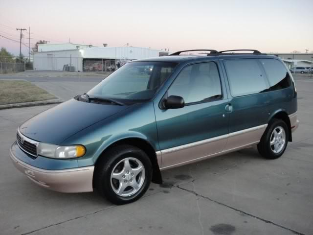 Nissan Quest 1997 Model Neat Tokunbo Green Colour For