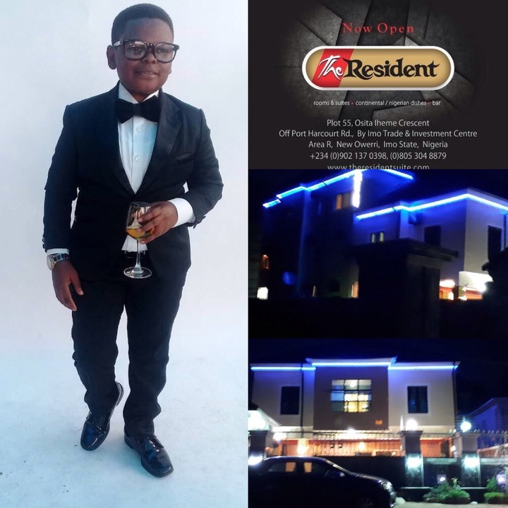 Osita Iheme Pawpaw's The Resident Hotel Opens In Owerri, Imo State (Photos)