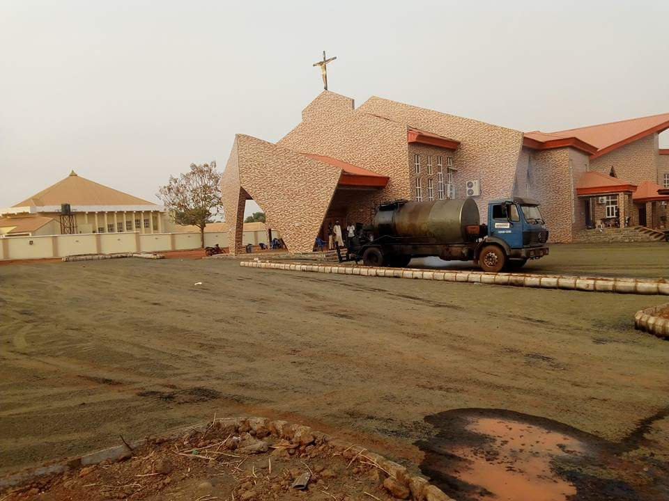 Pictures Of Newly Constructed Catholic Church By Senator David Mark