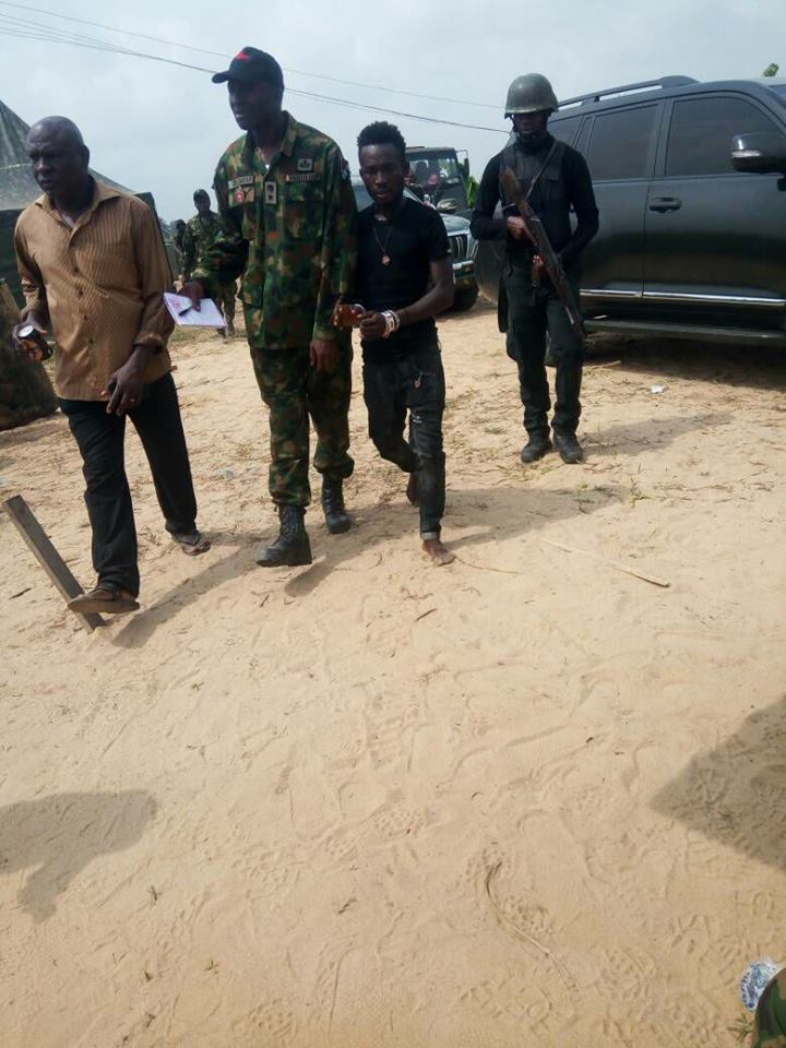 Dreaded Militant Leader, Karowei, Finally Arrested By Soldiers (Photo)