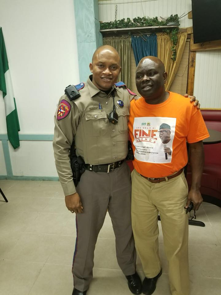 Meet Olajide Ayeni, A Nigerian Working As A Policeman In US - Pictures