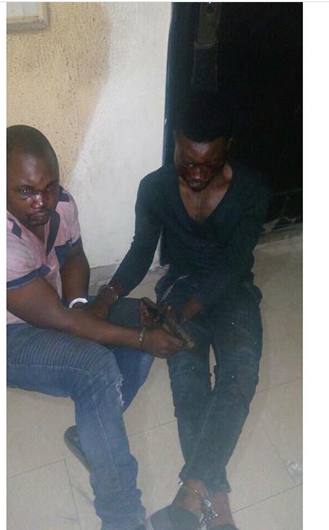"""Kidnappers Of """"Mrs Mildred Mbajiorgu"""" Caught In Ajah Lagos - Pictures"""