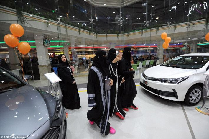 Checkout : Saudi Arabia's First Car Showroom For Women Only Opens In Jeddah - (Pictures Attached)