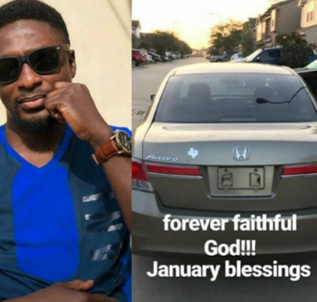 Adeniyi Johnson Acquires A New Car