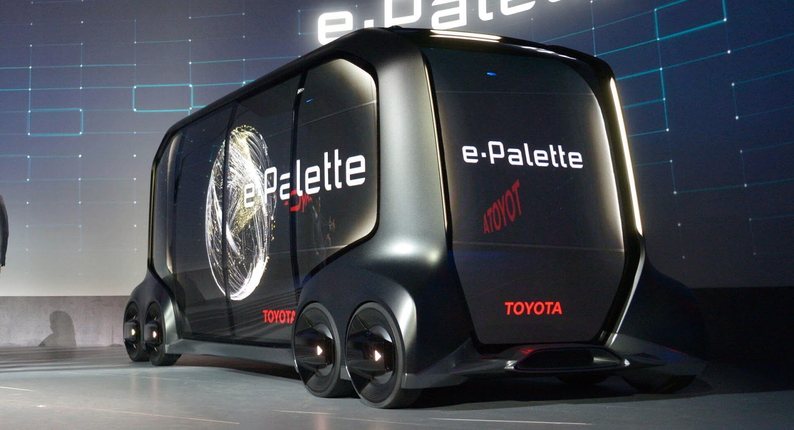 {filename}-Toyota Unveils Its Self-driving E-palette Delivery Pod