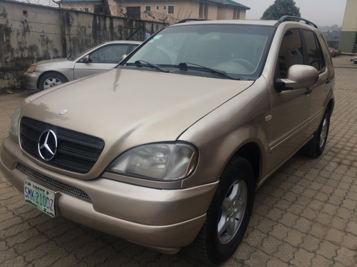 Price: N1,100,000 (Negotiable). Re: 2002 Mercedes Benz Ml320 ...