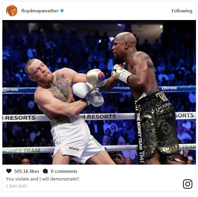 6544033_screenshot1_jpeg0e2f556455f0df226841c8ce51bea38f Floyd Mayweather And Conor McGregor Drag Each Other On Social Media (Photos)