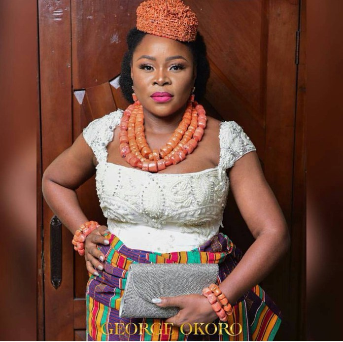 6547314_img20180113132727651_jpegd2c1265b95c1346fcb5a671ce0495b5d Singer Omawumi Looks Pretty In First Photos From Her Traditional Wedding In Warri