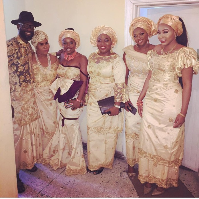 Singer Omawumi Looks Pretty In First Photos From Her Traditional Wedding In Warri