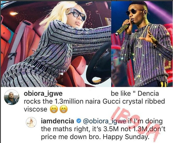6550969_screenshot1_jpeg0e2f556455f0df226841c8ce51bea38f Singer Dencia Slams Man Who Dragged Her Down To Wizkid's Level (Photos)