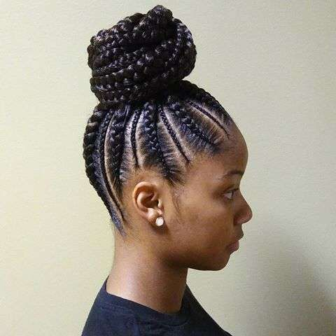 Latest Ghana Braids Hairstyles With Pictures