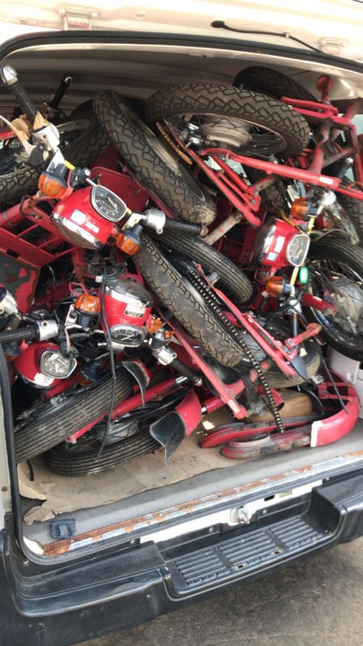 Honda Cub Motorcycles 90cc Engine & Body Spare Parts For ...